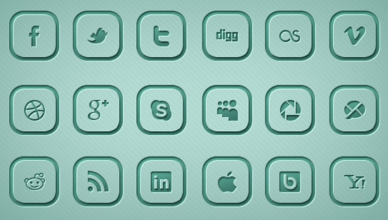 Rounded-Social-Media-Icons