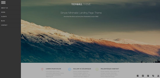 Simple-Landing-Page-Theme-v1