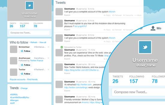 Twitter GUI