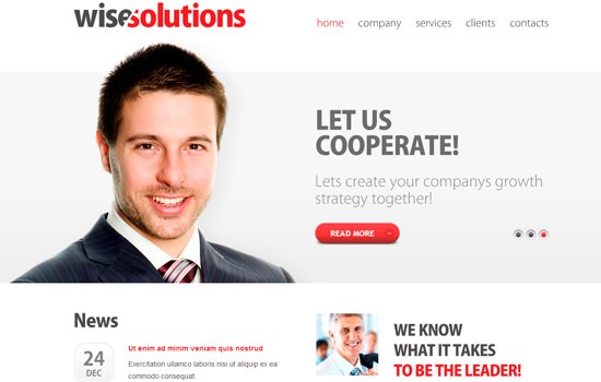 Zwisesolutions HTML template