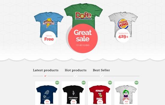Shopmint PSD template