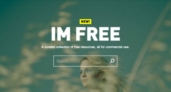 IM FREE: Curated Collections of Free Commercial Use Photos No Designer Can Do Without