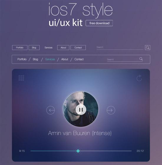 ios7-style-ui-kit