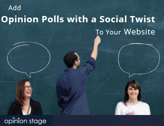 Social Polling by Opinion Stage: One-Year Pro-Account for Free