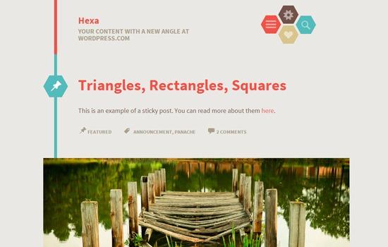 Hexa WP theme
