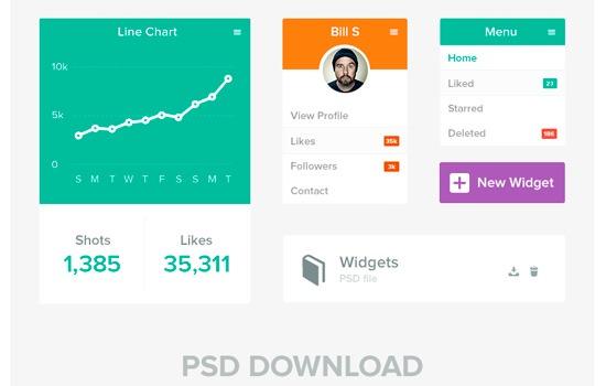 Flat UI widgets