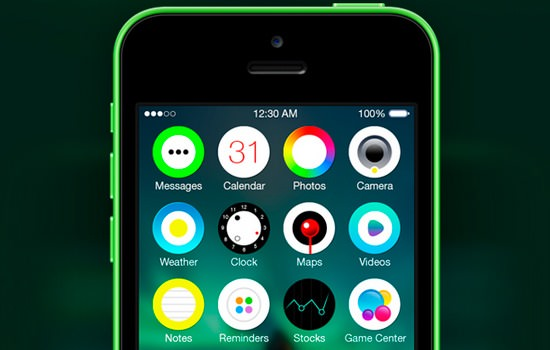 Aurora iOS7 template