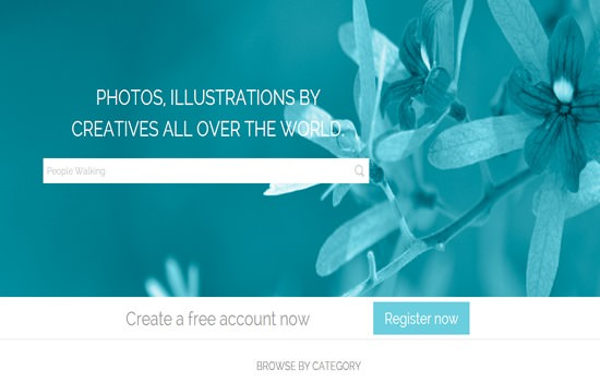 Leo Images HTML template
