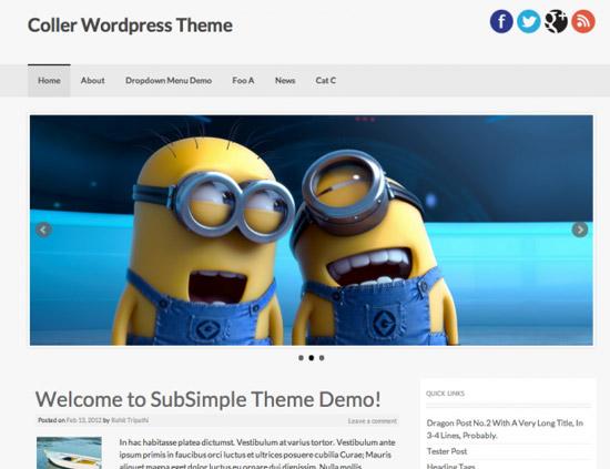 100款免费WordPress主题