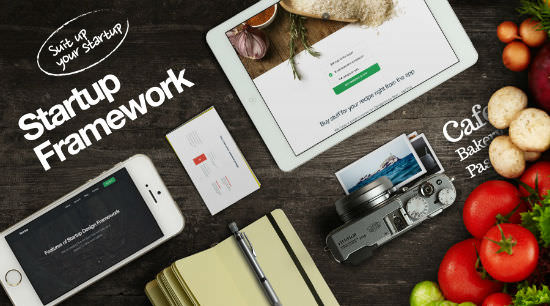 Deal of the Week: Designmodo's Fantastic Startup Design Framework Based on Bootstrap 3 and PSD