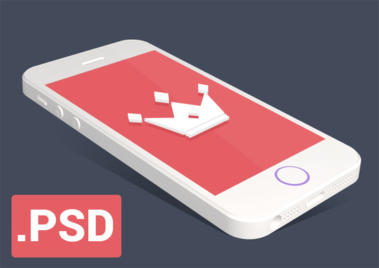 flat-iphone-5S-mockup-by-george-vasyagin