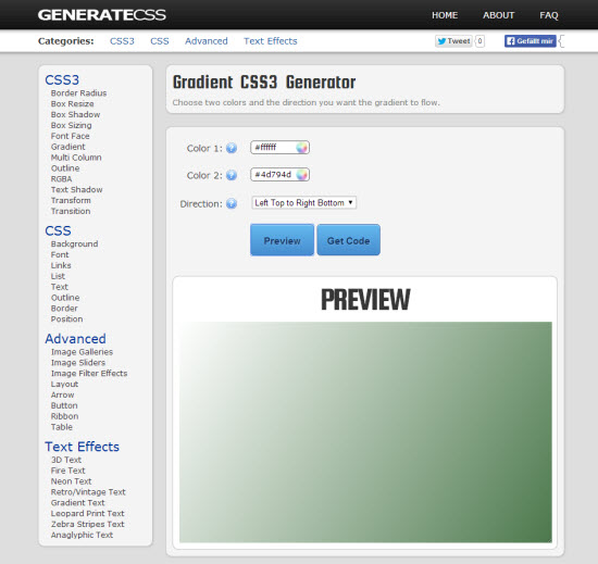 generatecss-gradients
