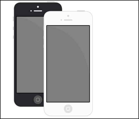 minimal-flat-Iphone5-by-rahul-dass