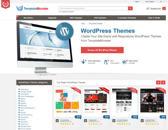 Exclusive Giveaway: Win your Favorite Templatemonster Premium WordPress Theme