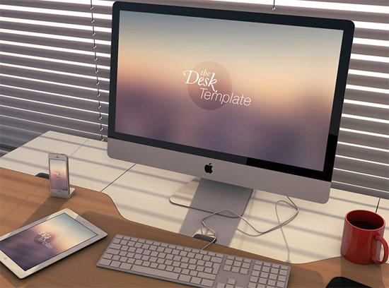 the-desk-template