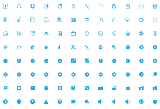 the-elegant-icon-font