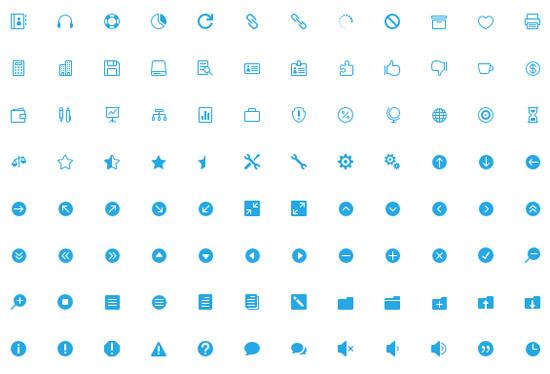 the-elegant-icon-font