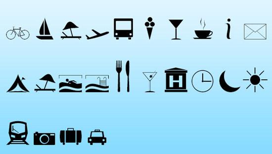 travel-icon-font