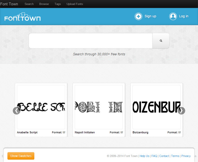 Typography Lovers Rejoice: Font Town Offers More Than 30,000 Free Fonts