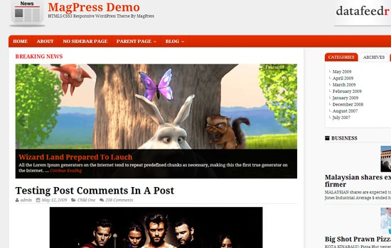 Spring Cleaning: 20 Fresh and Free WordPress Themes from April 2014