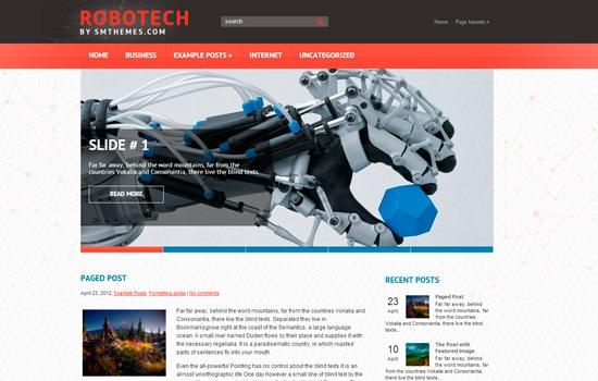 Robotech WP theme