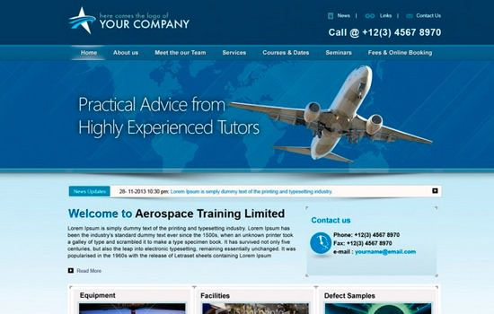 Flight training PSD template