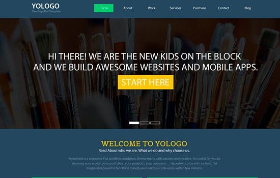 Yologo PSD template