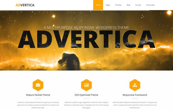 Advertica WP theme