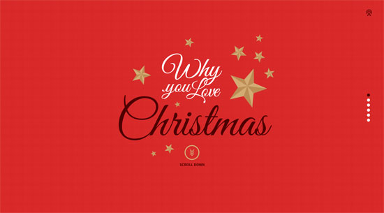 Christmas Website Design