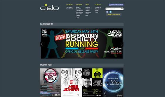 Cielo Website