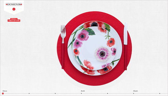 Tableware Web Design