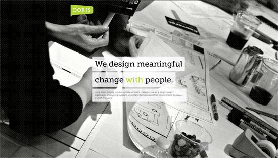 Doris Research Web Design