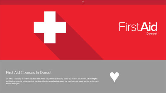 First Aid Website