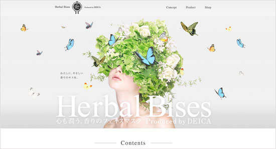 Herbal Bises Web Design