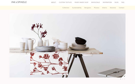 Ink & Spindle Web Design