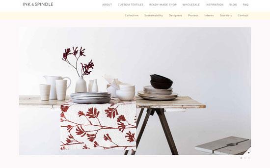 Ink & Spindle Web Design