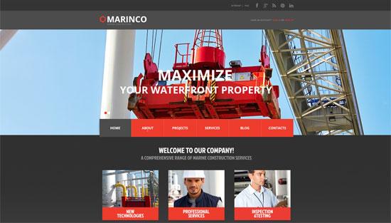 Marine Construction Site