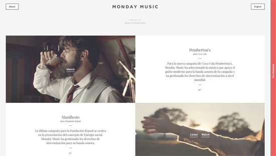 Monday Music Website