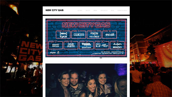 New City Gas Website Design