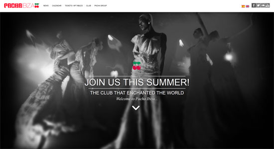 Pacha Website