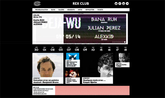 Rex Club Website
