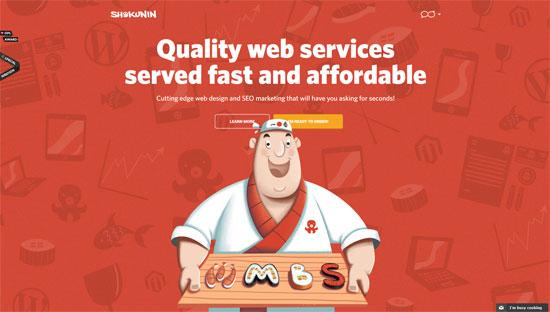 Shokunin Website
