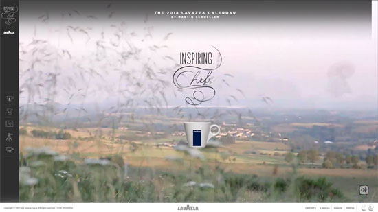 Lavazza 2014 Site
