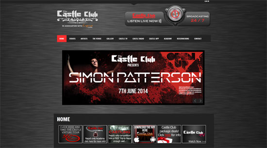 The Castle Club Site