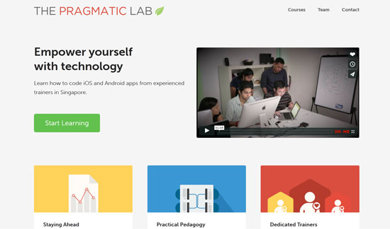 Pragmatic Lab Site