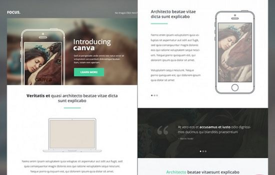 Canva PSD template