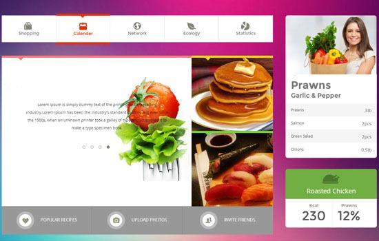 Metro Food UI