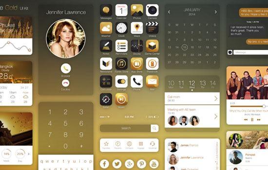 Gold UI