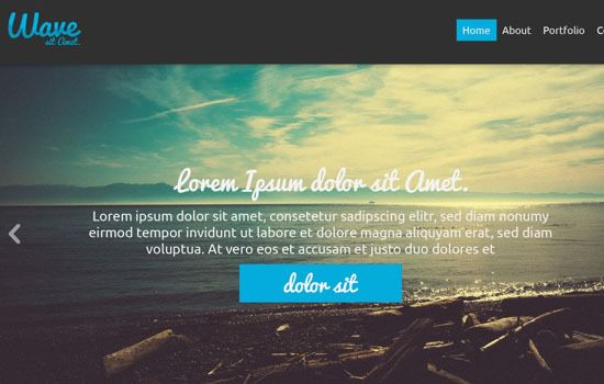 Wave PSD template