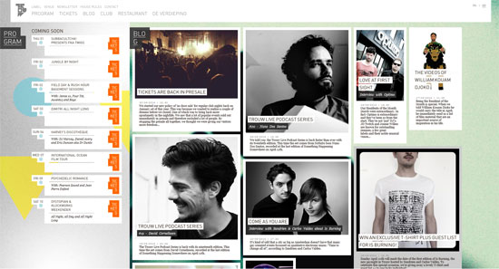 TrouwAmsterdam Website